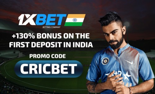 1XBET Promo Code: Free 9750 INR with «CRICBET» Bonus Code in India