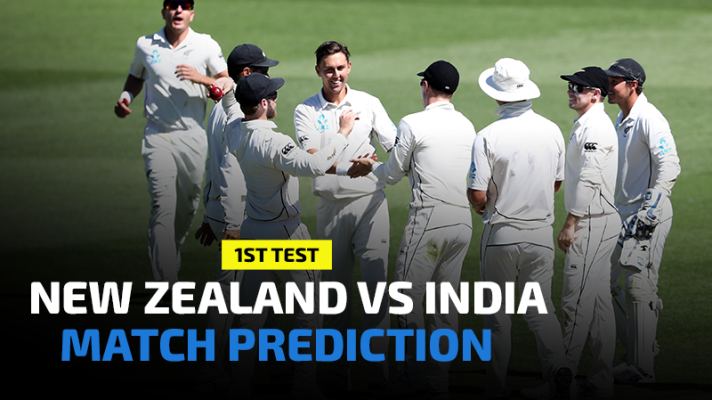 New Zealand vs India 1st Test Prediction, Betting Tips and Match Preview