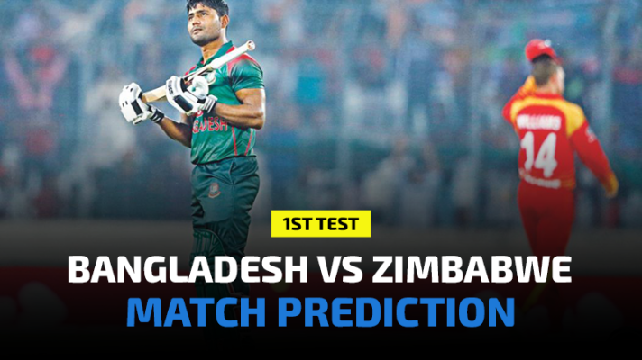 Bangladesh vs Zimbabwe 1st Test Prediction, Betting Tips and Match Preview