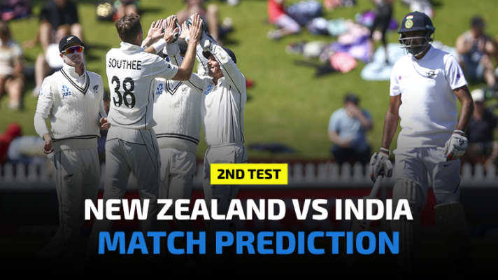 New Zealand vs India 2nd Test Prediction, Betting Tips and Match Preview