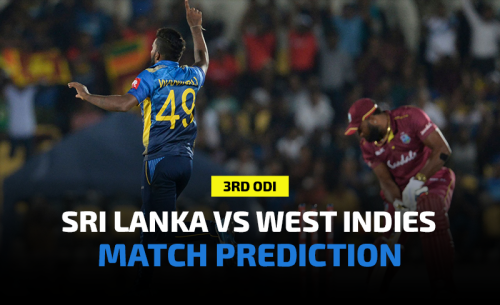 Sri Lanka vs West Indies 3rd ODI Prediction, Betting Tips and Match Preview