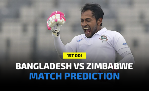 Bangladesh vs Zimbabwe 1st ODI Prediction, Betting Tips and Match Preview