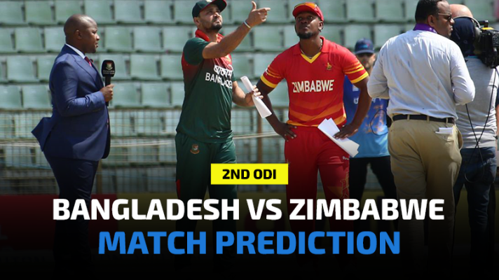 Bangladesh vs Zimbabwe 2nd ODI Match Prediction and Betting Tips
