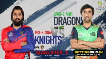 SCL: Qualifier 2: Mis Ainak Knights vs Band-e-Amir Dragons Prediction and Preview