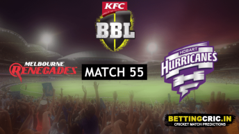 Melbourne Renegades vs Hobart Hurricanes Predictions: BBL 55th Match Preview