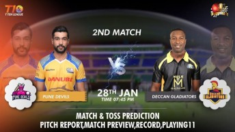 Pune Devils vs Deccan Gladiators Predictions: Abu Dhabi T10 2nd Match Preview