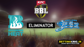 Brisbane Heat vs Adelaide Strikers Predictions: BBL10 Eliminator Preview