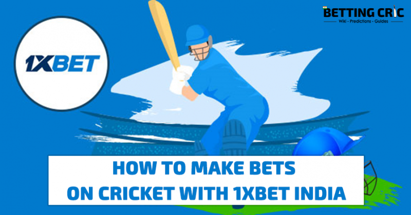 How To Make Bets on Cricket With 1XBET India