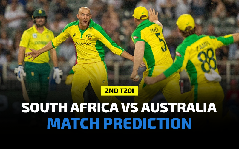 South Africa vs Australia 2nd T20I Prediction, Betting Tips and Match Preview