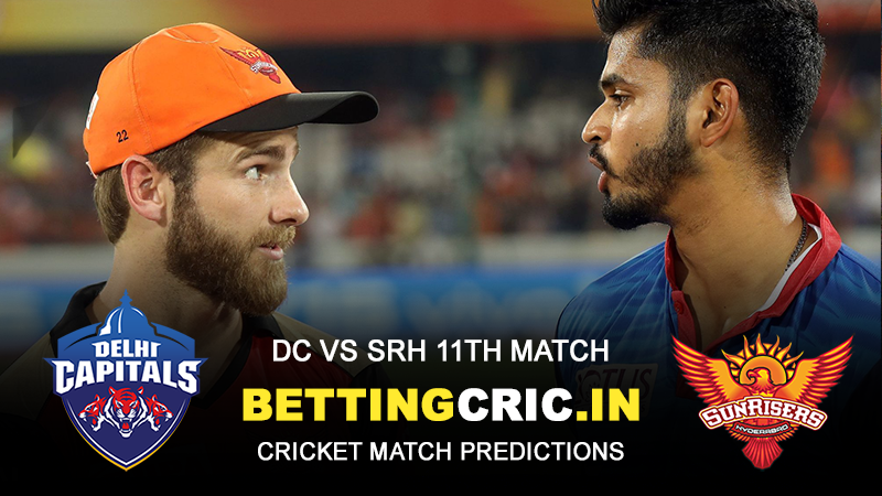 IPL Match 11: DC vs SRH Predictions, Predicted Playing XIs and Preview