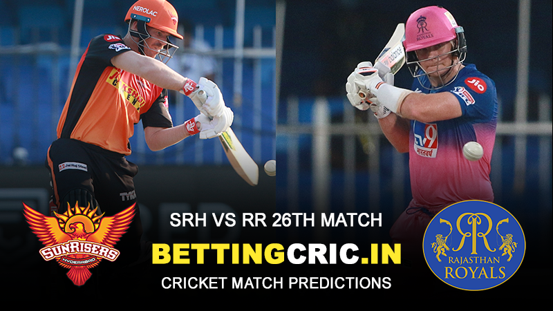 IPL Match 26: Sunrisers Hyderabad vs Rajasthan Royals Prediction and Preview