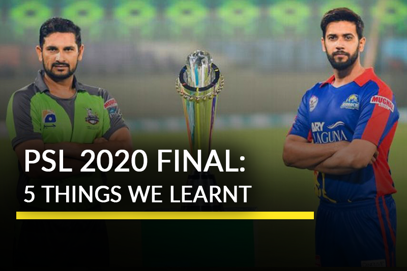 5 Talking Points from Karachi Kings vs Lahore Qalandars in PSL 2020 Final
